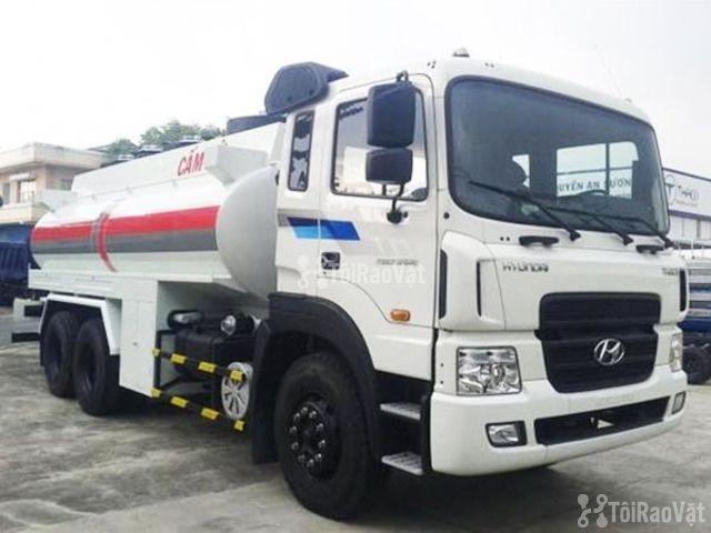 Xe chở xăng dầu Hyundai 3 chân 18 khối - 2/3