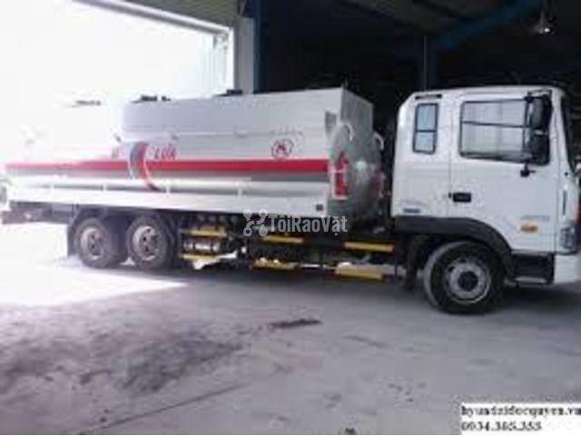 Xe chở xăng dầu Hyundai 3 chân 18 khối - 3/3