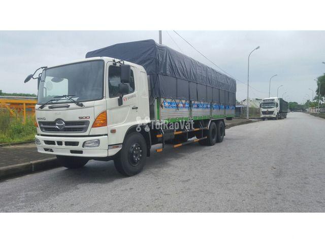 Bán xe tải thùng mui bạt Hino 3 chân 14 tấn  - 2/3