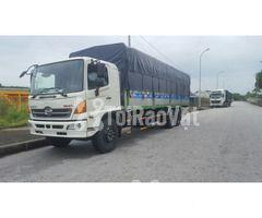 Bán xe tải thùng mui bạt Hino 3 chân 14 tấn  - Hình ảnh 2/3