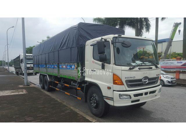 Bán xe tải thùng mui bạt Hino 3 chân 14 tấn  - 3/3