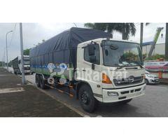 Bán xe tải thùng mui bạt Hino 3 chân 14 tấn  - Hình ảnh 3/3