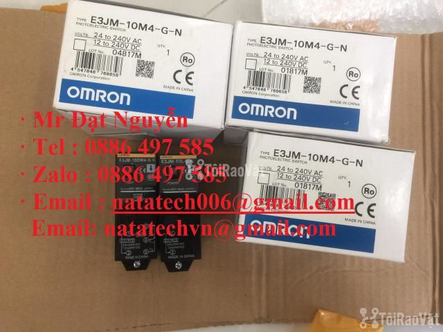 E3JM-10M4T-G-N ,Cảm biến quang ,Omron  - 1/2