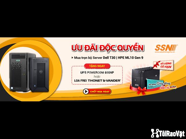 Tặng voucher ưu đãi 20%  các dòng UPS Powercom tại SSN  - 1/1