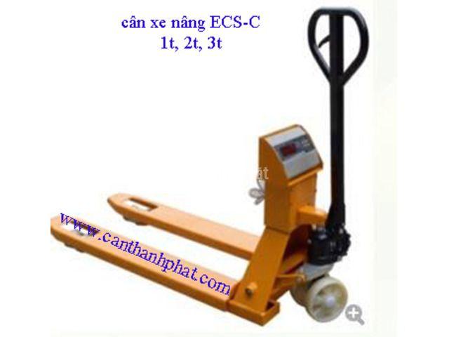 Xe nâng hàng gắn cân điện tử ECS-C 2 tấn Cas Hàn quốc chính hãng - 1/1