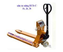 Xe nâng hàng gắn cân điện tử ECS-C 2 tấn Cas Hàn quốc chính hãng