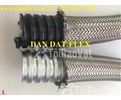 """Ống thép luồn dây điện bọc nhựa pvc 1/2"""", khớp chống rung inox, lưới  - Hình ảnh 2/6"""