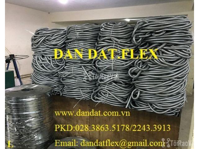 """Ống thép luồn dây điện bọc nhựa pvc 1/2"""", khớp chống rung inox, lưới  - 3/6"""