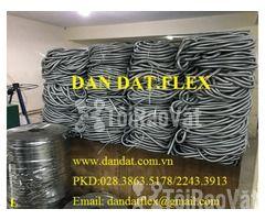 """Ống thép luồn dây điện bọc nhựa pvc 1/2"""", khớp chống rung inox, lưới  - Hình ảnh 3/6"""