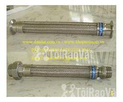 """Ống thép luồn dây điện bọc nhựa pvc 1/2"""", khớp chống rung inox, lưới  - Hình ảnh 4/6"""