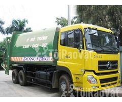 Bán xe cuốn ép rác Dongfeng 22 khối
