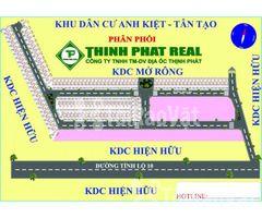 Mở bán đất phân lô Tân Tạo- Bình Tân giá F1 đầu tư