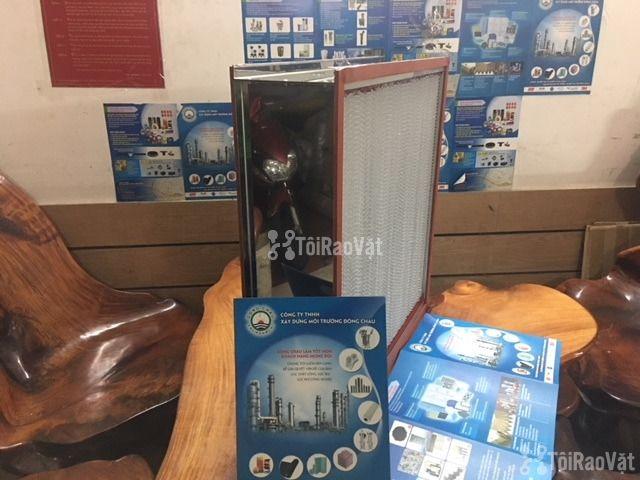 Khung Hepa H13 inox lọc khí nhiệt độ cao, gia công. Đông Châu Co.,ltđ - 1/1