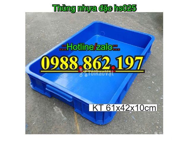 Thùng nhựa đặc, thùng nhựa công nghiệp giá rẻ,thùng nhựa cơ khí giá r - 2/6