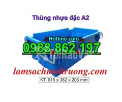 Sóng nhựa bít A2,thùng chứa A2,thùng nhựa A2,thùng nhựa đặc A2,th - Hình ảnh 1/6