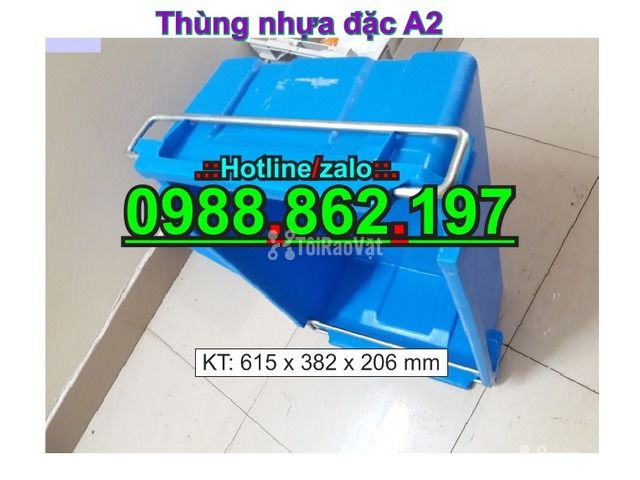 Sóng nhựa bít A2,thùng chứa A2,thùng nhựa A2,thùng nhựa đặc A2,th - 2/6