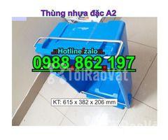 Sóng nhựa bít A2,thùng chứa A2,thùng nhựa A2,thùng nhựa đặc A2,th - Hình ảnh 2/6