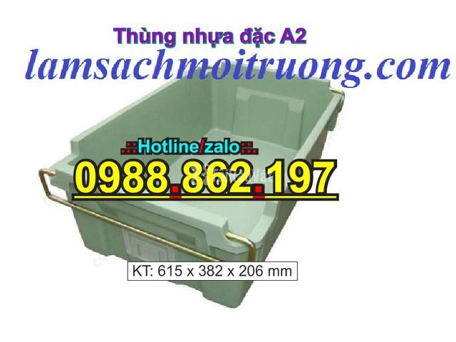 Sóng nhựa bít A2,thùng chứa A2,thùng nhựa A2,thùng nhựa đặc A2,th - 3/6