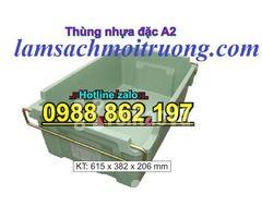 Sóng nhựa bít A2,thùng chứa A2,thùng nhựa A2,thùng nhựa đặc A2,th - Hình ảnh 3/6