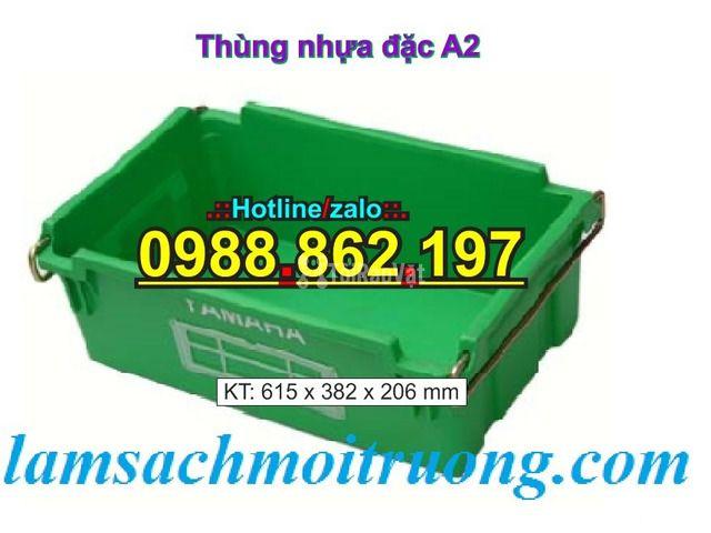 Sóng nhựa bít A2,thùng chứa A2,thùng nhựa A2,thùng nhựa đặc A2,th - 4/6
