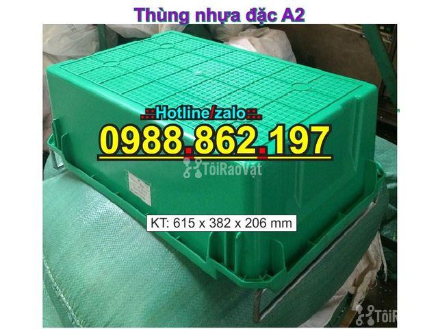 Sóng nhựa bít A2,thùng chứa A2,thùng nhựa A2,thùng nhựa đặc A2,th - 5/6