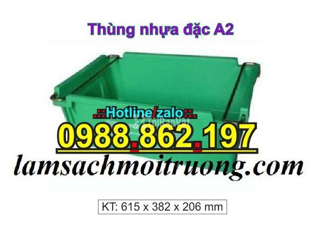 Sóng nhựa bít A2,thùng chứa A2,thùng nhựa A2,thùng nhựa đặc A2,th - 6/6