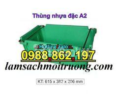 Sóng nhựa bít A2,thùng chứa A2,thùng nhựa A2,thùng nhựa đặc A2,th - Hình ảnh 6/6