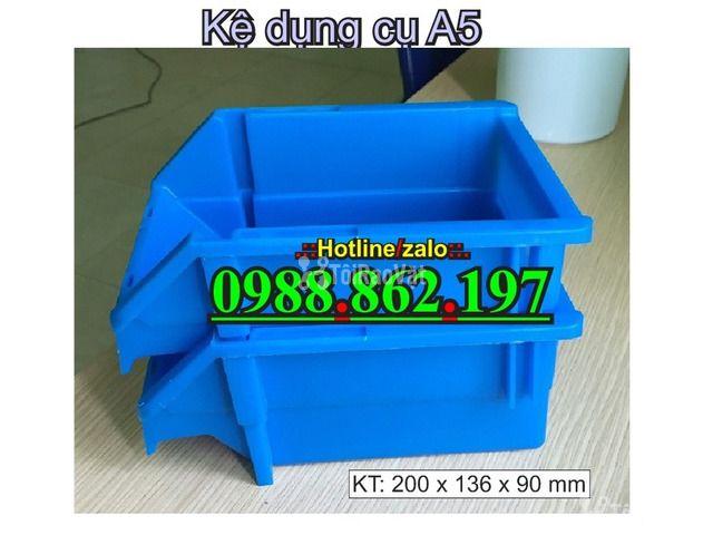 khay nhựa A5, hộp nhựa cơ khí, khay linh kiện giá rẻ, khay đựng linh k - 1/6