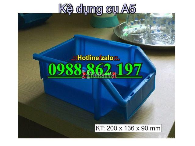 khay nhựa A5, hộp nhựa cơ khí, khay linh kiện giá rẻ, khay đựng linh k - 2/6