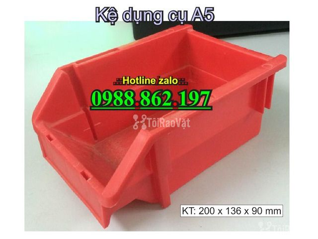khay nhựa A5, hộp nhựa cơ khí, khay linh kiện giá rẻ, khay đựng linh k - 3/6
