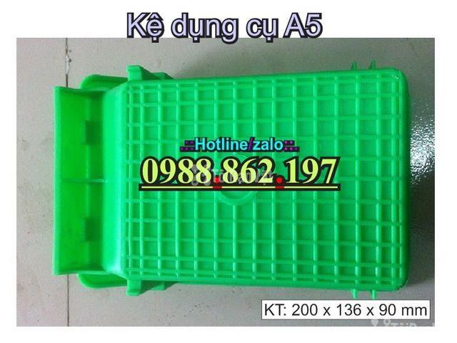 khay nhựa A5, hộp nhựa cơ khí, khay linh kiện giá rẻ, khay đựng linh k - 4/6
