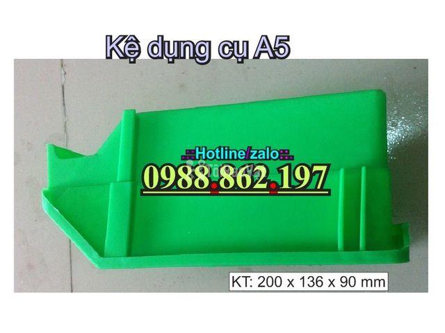 khay nhựa A5, hộp nhựa cơ khí, khay linh kiện giá rẻ, khay đựng linh k - 5/6