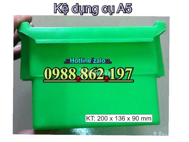 khay nhựa A5, hộp nhựa cơ khí, khay linh kiện giá rẻ, khay đựng linh k - 6/6