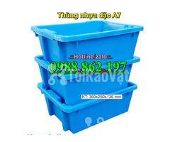 thùng nhựa A7, Khay nhựa A7,thùng nhựa đặc A7,thùng nhựa đặc giá rẻ, - Hình ảnh 3/6