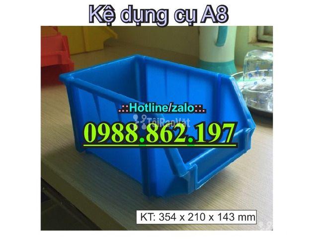 khay nhựa A8, hộp nhựa A8, khay linh kiện A8, kệ nhựa A8, khay nhựa g - 2/6