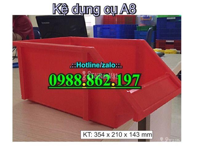 khay nhựa A8, hộp nhựa A8, khay linh kiện A8, kệ nhựa A8, khay nhựa g - 3/6