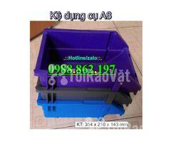 khay nhựa A8, hộp nhựa A8, khay linh kiện A8, kệ nhựa A8, khay nhựa g - Hình ảnh 4/6