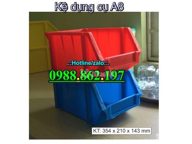 khay nhựa A8, hộp nhựa A8, khay linh kiện A8, kệ nhựa A8, khay nhựa g - 5/6