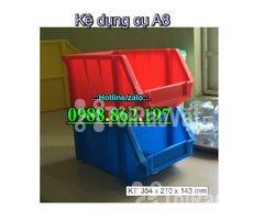 khay nhựa A8, hộp nhựa A8, khay linh kiện A8, kệ nhựa A8, khay nhựa g - Hình ảnh 5/6