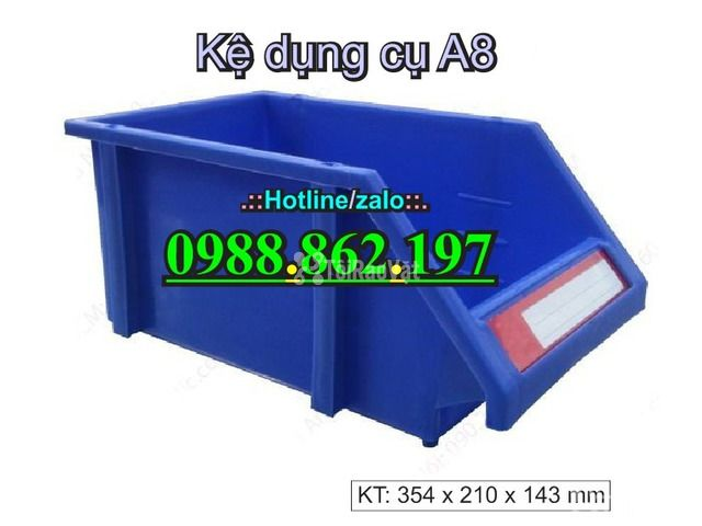 khay nhựa A8, hộp nhựa A8, khay linh kiện A8, kệ nhựa A8, khay nhựa g - 6/6
