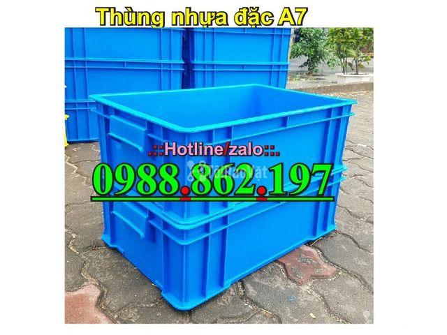 Thùng nhựa đặc B4, sóng nhựa bít b4, sóng nhựa đặc b4, thùng nhựa b4 g - 2/6