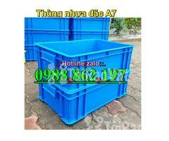 Thùng nhựa đặc B4, sóng nhựa bít b4, sóng nhựa đặc b4, thùng nhựa b4 g - Hình ảnh 2/6