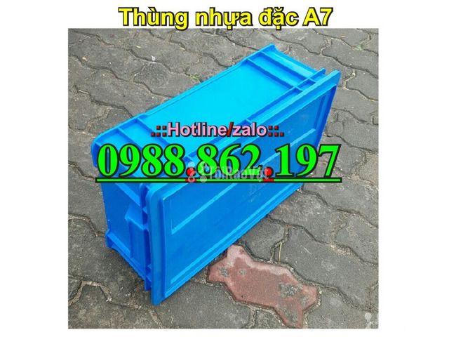 Thùng nhựa đặc B4, sóng nhựa bít b4, sóng nhựa đặc b4, thùng nhựa b4 g - 4/6