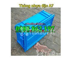 Thùng nhựa đặc B4, sóng nhựa bít b4, sóng nhựa đặc b4, thùng nhựa b4 g - Hình ảnh 4/6