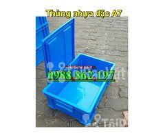 Thùng nhựa đặc B4, sóng nhựa bít b4, sóng nhựa đặc b4, thùng nhựa b4 g - Hình ảnh 5/6