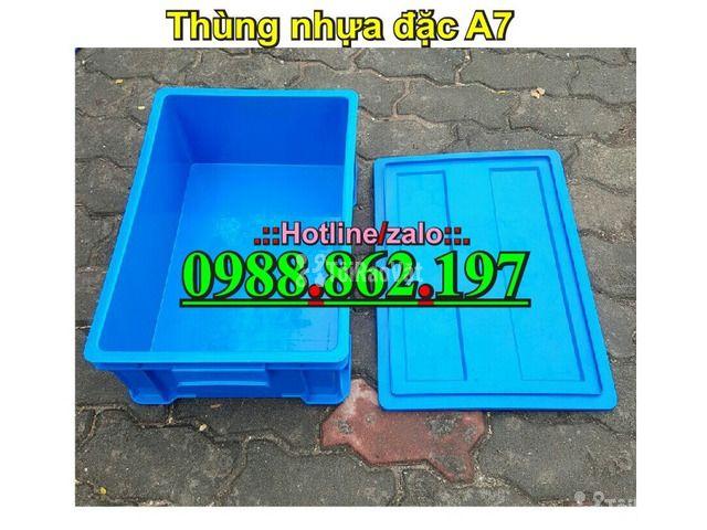 Thùng nhựa đặc B4, sóng nhựa bít b4, sóng nhựa đặc b4, thùng nhựa b4 g - 6/6