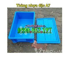 Thùng nhựa đặc B4, sóng nhựa bít b4, sóng nhựa đặc b4, thùng nhựa b4 g - Hình ảnh 6/6