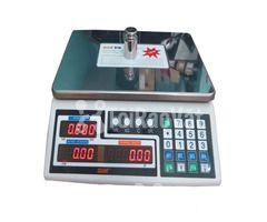Cân tính tiền QUA 810 30kg/1g, cân tính tiền siêu thị