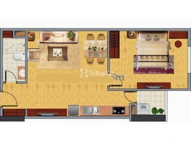 Tôi cần bán nhanh căn hộ chung cư Nghĩa đô, 45m2, tầng trung. - 3/3