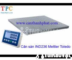 Cân sàn điện tử IND236 Mettler Toledo tải trọng 5 tấn